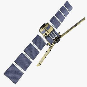 3d model satellite smos