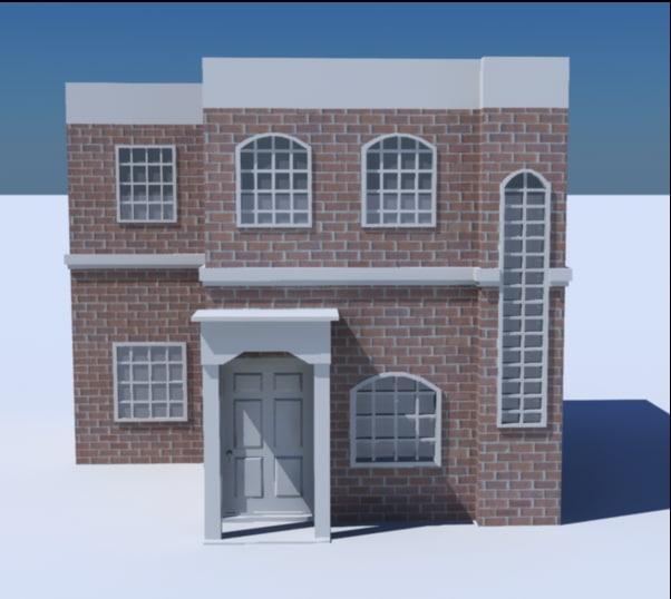house 3 3d xsi