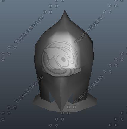 helm armet 3d model