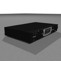 cd burner philips 3d model