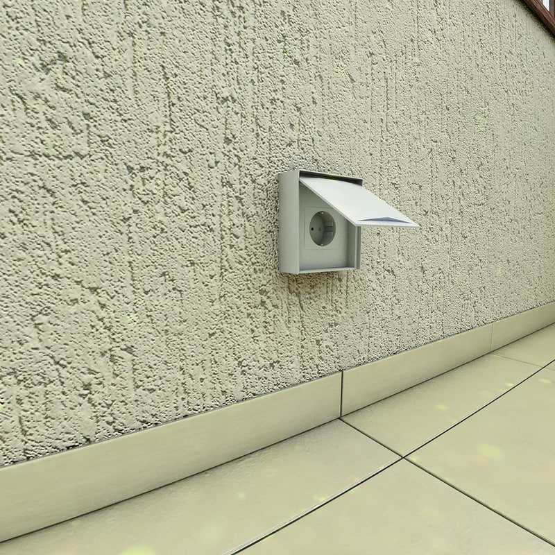 3d max electrical outlet