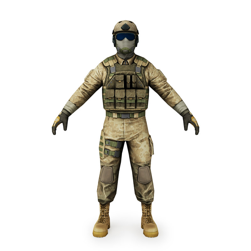 3d ready soldier navy seal