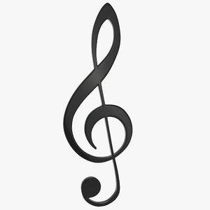 treble clef 3ds