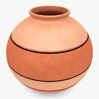 water pot 1 3d model