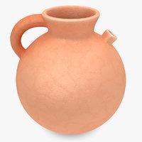 3d water pot 2 model