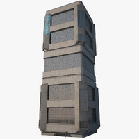 futuristic tower mega max