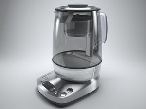 3d model bork teapot pot