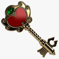 3d magic key model