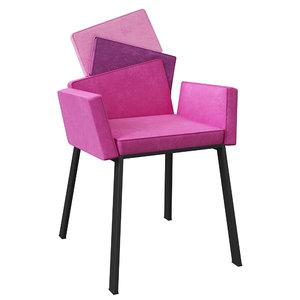 premium armchair karina design 3d model