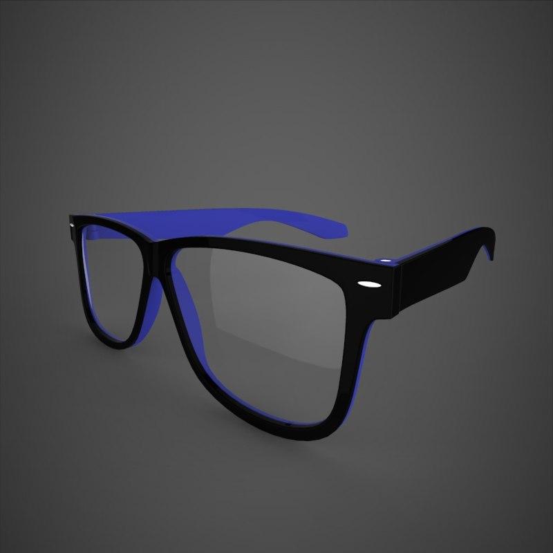 specs 3d model