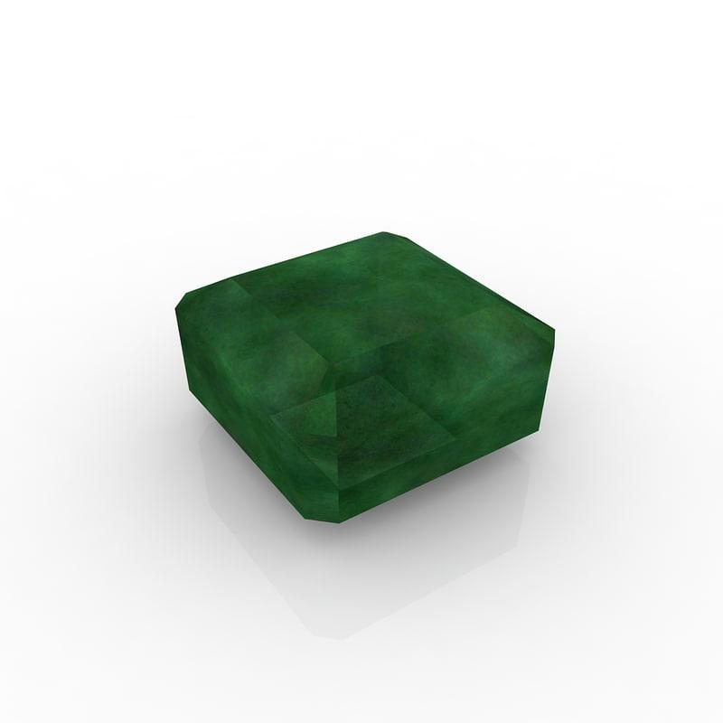 3d model emerald