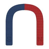 horseshoe magnet art obj free