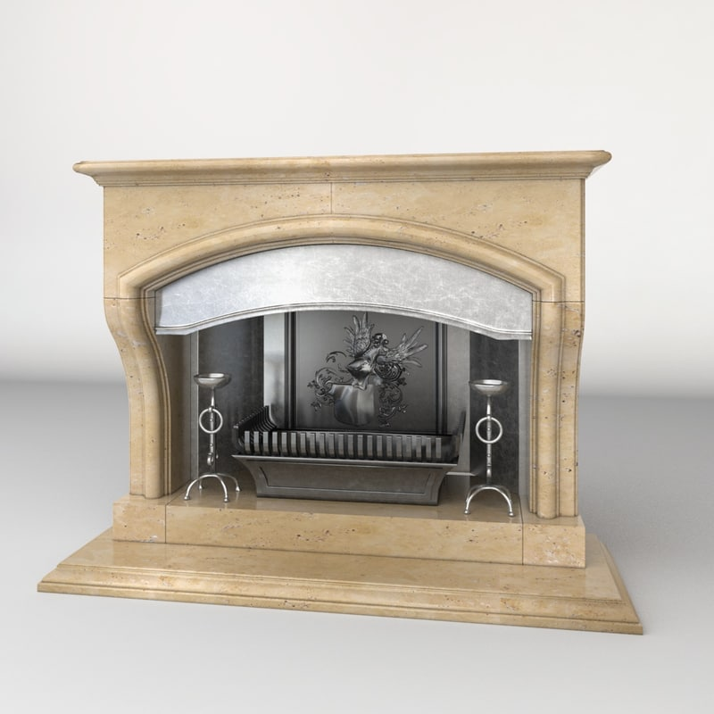 classic fireplace max
