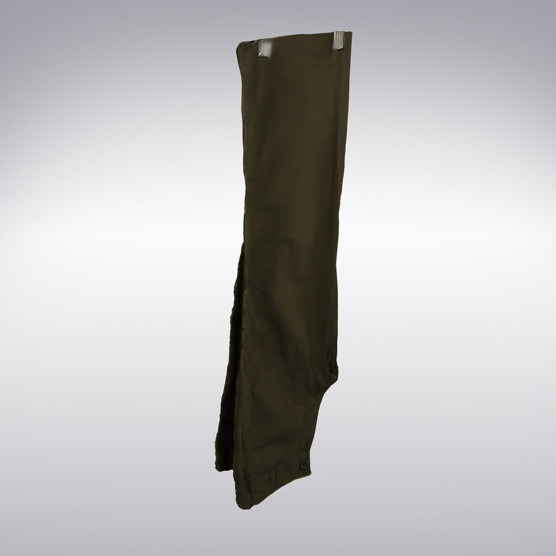 casual pants scanning 3d model
