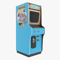 Donkey Kong Arcade Game Machine