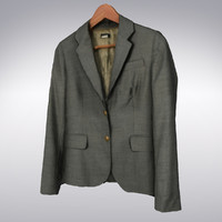 3d model men s gray suit