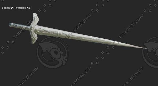 max large sword decorative