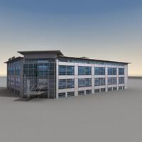Modern Building 070