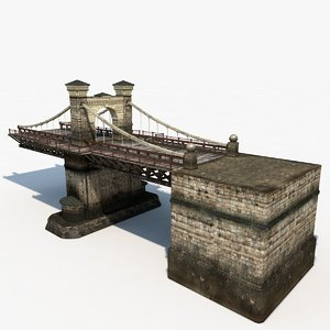 3d model of bridge nicholas chain