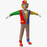 Clown 2 Version 2 Rigged