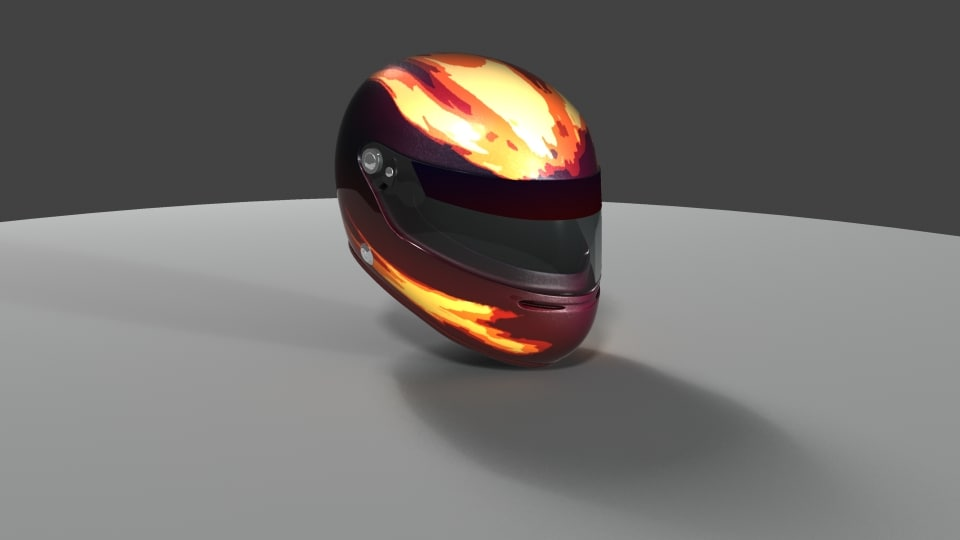 obj f1 helmet