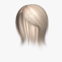 3d linda hair human character