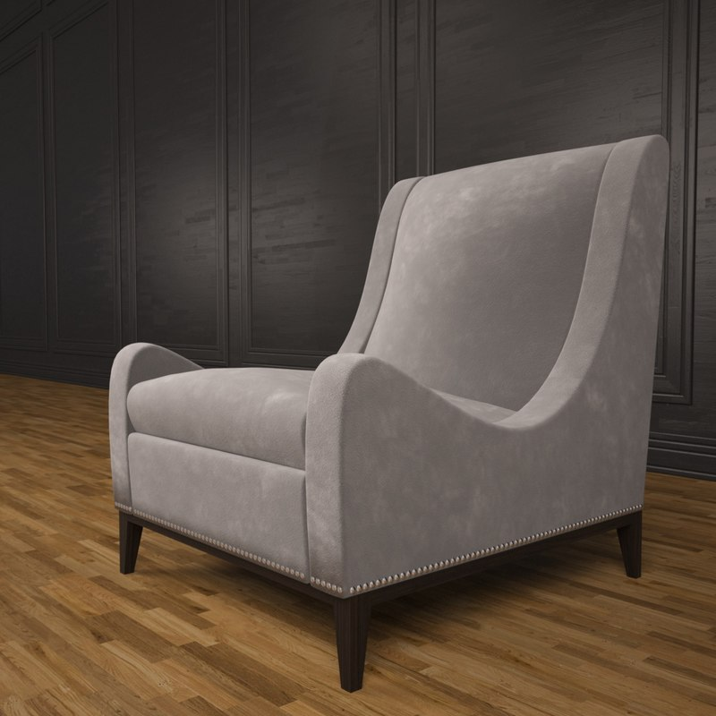 sloop chair 3d 3ds