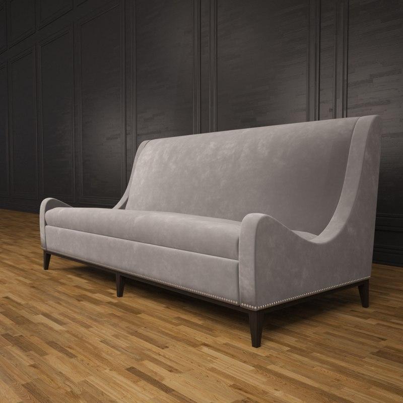 sloop sofa 3ds
