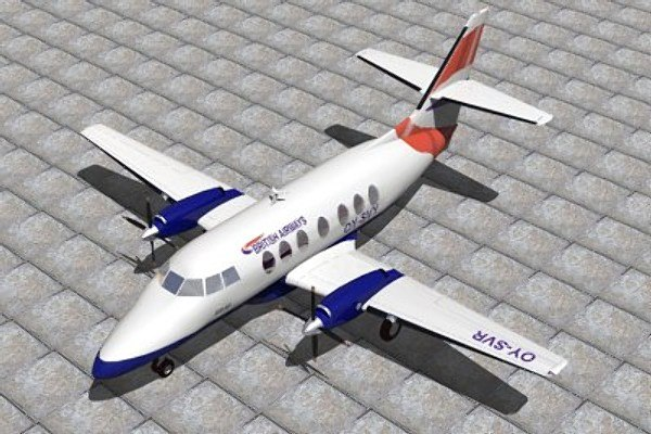 jetstream bae 3d 3ds
