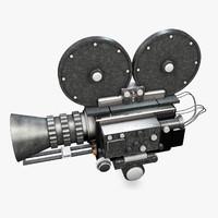 camera movie 3d model