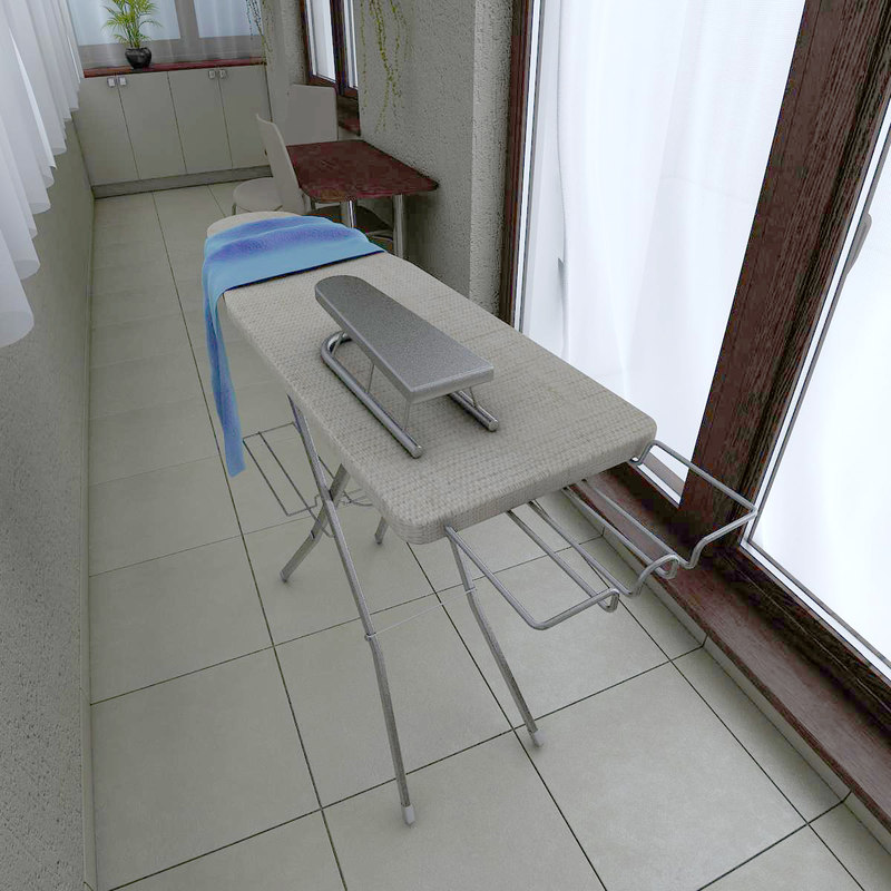 3ds ironing board