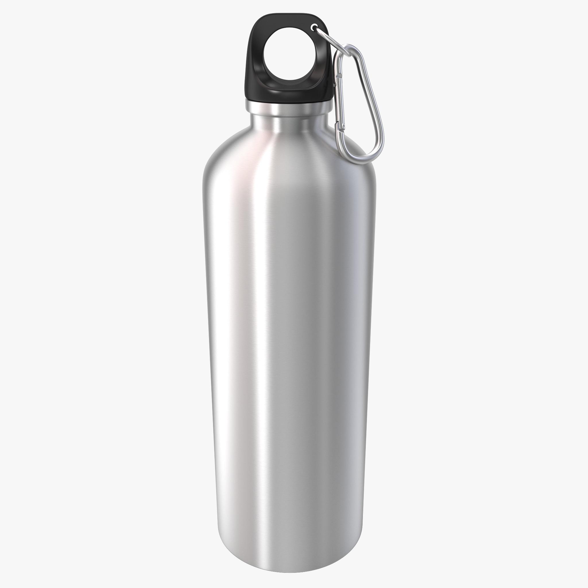3d reusable aluminium water bottle