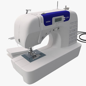 3d sewing machine brother cs-6000i model