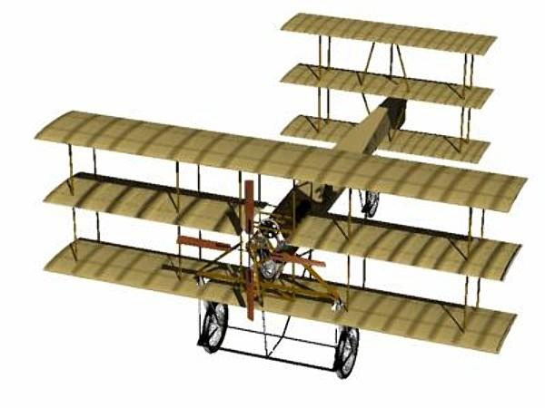 3d model avro triplane