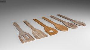 3ds kitchen utensils