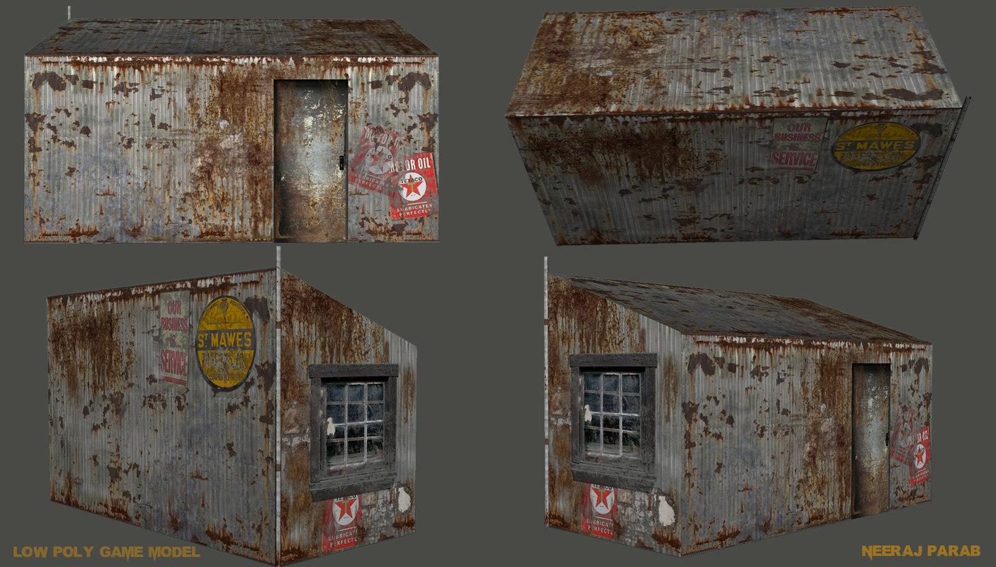 free lowpoly modles 3d model