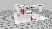 2 exhibition stand 3d max