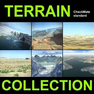 3ds max landscape desert terrain 4