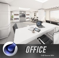office interior c4d