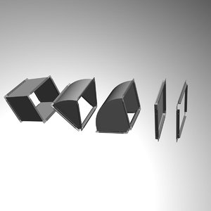 3d elements ducts