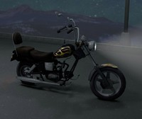 3d motorcycle bike model