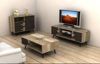 furniture set living cabinet 3ds