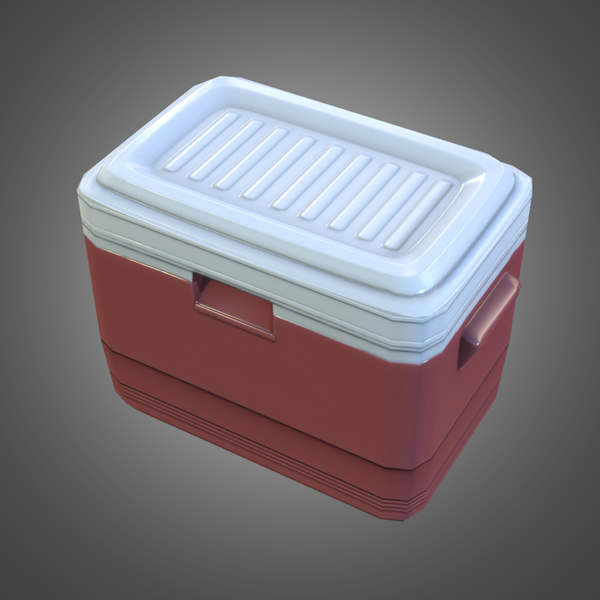 3ds max portable cooler