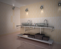 bathroom sink scene max