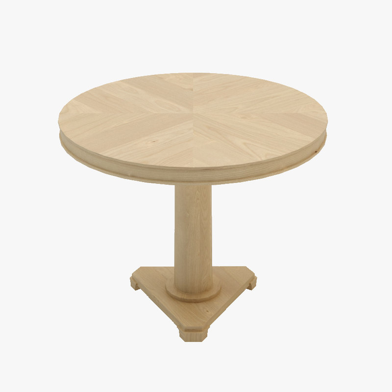 3d model table charlote