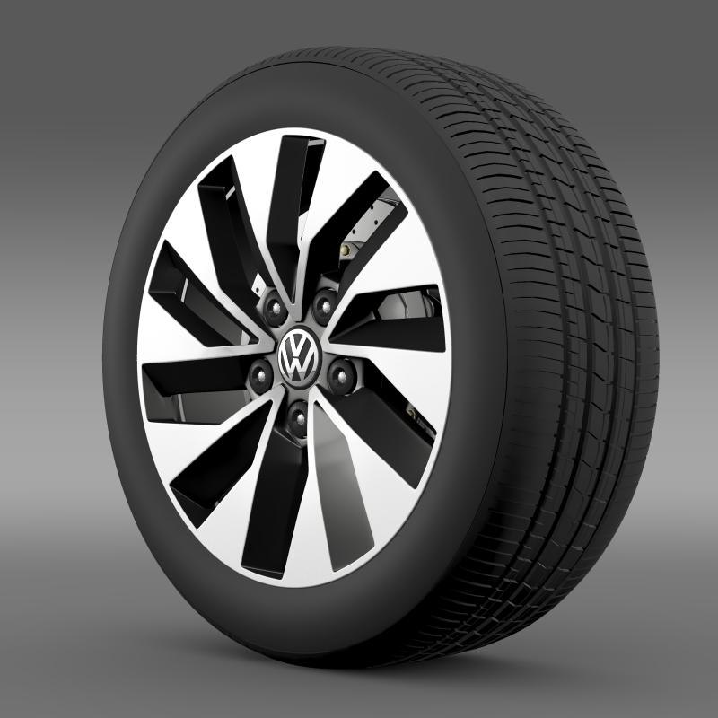 lwo volkswagen polo bluegt wheel