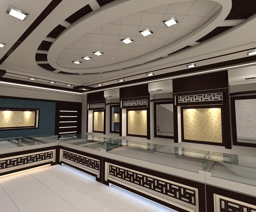 3ds jewellers shop interior