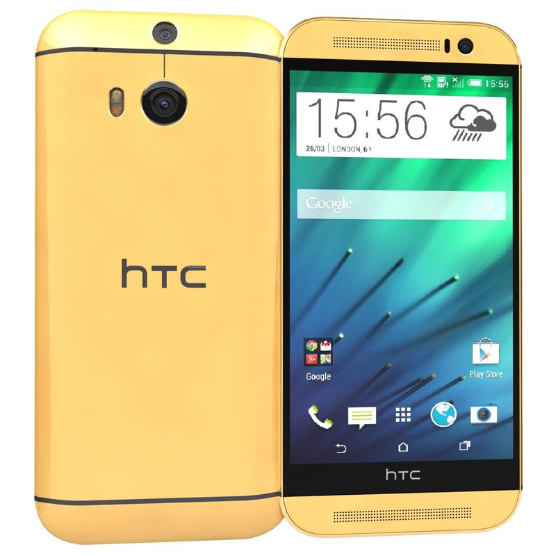 3ds max htc m8 gold