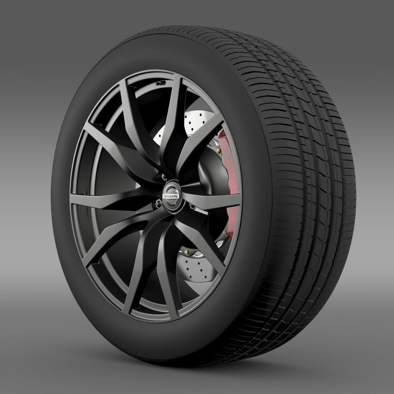 3ds nissan gtr wheel 2015