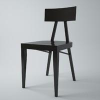 A-0336 wooden chair